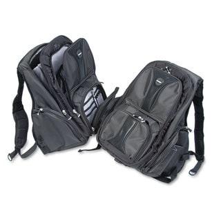 Kensington Contour Laptop Backpack Nylon 15 3/4 x 9 x 19 1/2 Black