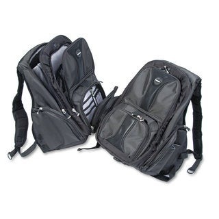 Kensington Contour Laptop Backpack Nylon 15 3/4 x 9 x 19 1/2 Black