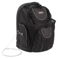 Vaultz Locking Backpack 16 inches 15 x 7 x 19 Black
