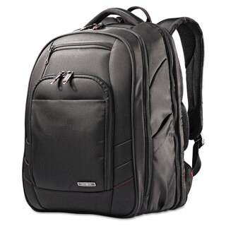 Samsonite Xenon 2 Laptop Backpack 12 1/4 x 8 1/4 x 17 1/4 Nylon Black