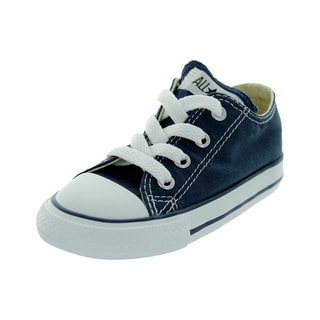 Converse Infants' Chuck Taylor A/S Oxford Blue Canvas Basketball Shoes