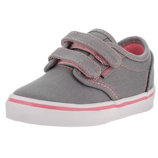 Vans Toddlers Atwood V Grey Canvas Skate Shoes