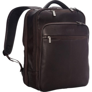 Kenneth Cole Reaction EZ-Scan Colombian Leather Slim 16-inch Computer Backpack
