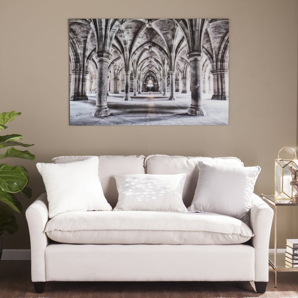 Shop Harper Blvd Gothic Arches Glass Wall Art - On Sale - Free ...