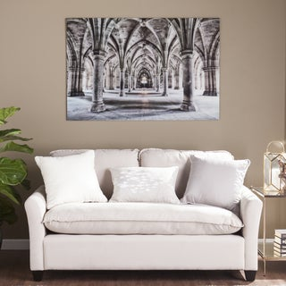 Harper Blvd Gothic Arches Glass Wall Art