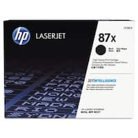 HP 87X High Yield Original Black LaserJet Toner Cartridge, CF287X