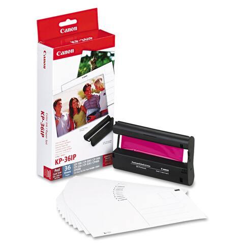 Canon 7737A001 (KP-36IP) Color Ink & Paper Set Tri-Color