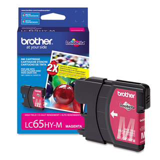 Brother LC65HYM Innobella High-Yield Ink Magenta