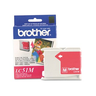 Brother LC51M Innobella Ink Magenta