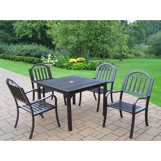 Hometown 5-piece Dining Set with Square Table and 4 Chairs