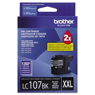 Brother LC107BK Innobella Super High-Yield Ink Black