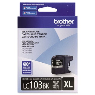 Brother LC103BK Innobella High-Yield Ink Black