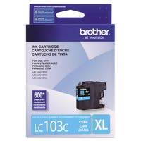 Brother LC103C Innobella High-Yield Ink Cyan