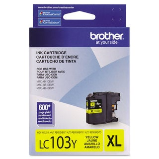 Brother LC103Y Innobella High-Yield Ink Yellow