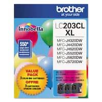 Brother LC2033PKS Innobella High-Yield Ink Cyan/Magenta/Yellow 3/Pack