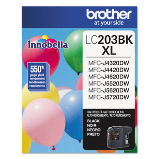 Brother LC203BK Innobella High-Yield Ink Black