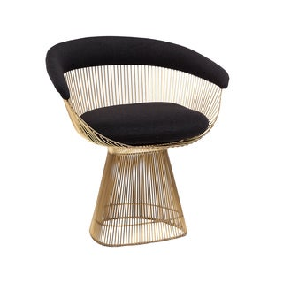 Black/gold Hans Andersen Home Warren Lounge Chair