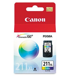 Canon 2975B001 (CL-211XL) High-Yield Ink Tri-Color