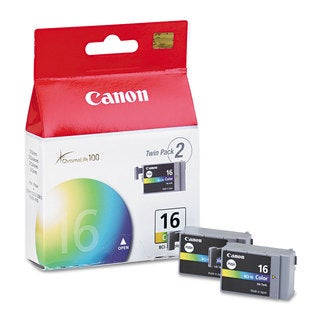 Canon BCI16 (BCI-16) Ink Tri-Color 2/Pack