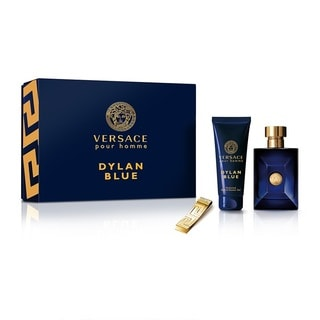 Versace Dylan Blue Pour Homme Men's 3-piece Set