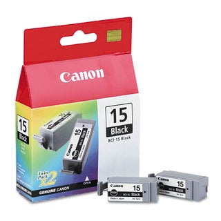 Canon BCI15BK (BCI-15) Ink Black 2/Pack