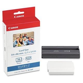 Canon 7739A001 (KC-36IP) Ink & Photo Paper Set Black/Tri-Color