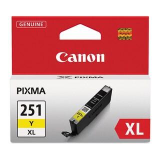 Canon 6451B001 (CLI-251XL) ChromaLife100+ High-Yield Ink Yellow