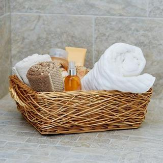 Household Essentials Spring Bird Nest Willow Basket