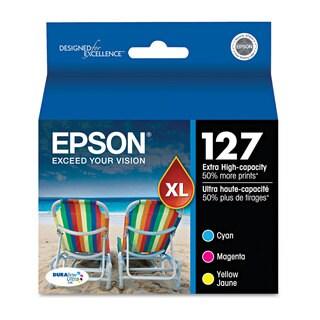 Epson T127520 (127) DURABrite Ultra Extra High-Yield Ink Cyan/Magenta/Yellow 3/Pack