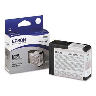 Epson T580700 ULetteraChrome K3 Ink Light Black