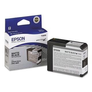 Epson T580800 UltraChrome K3 Ink Matte Black