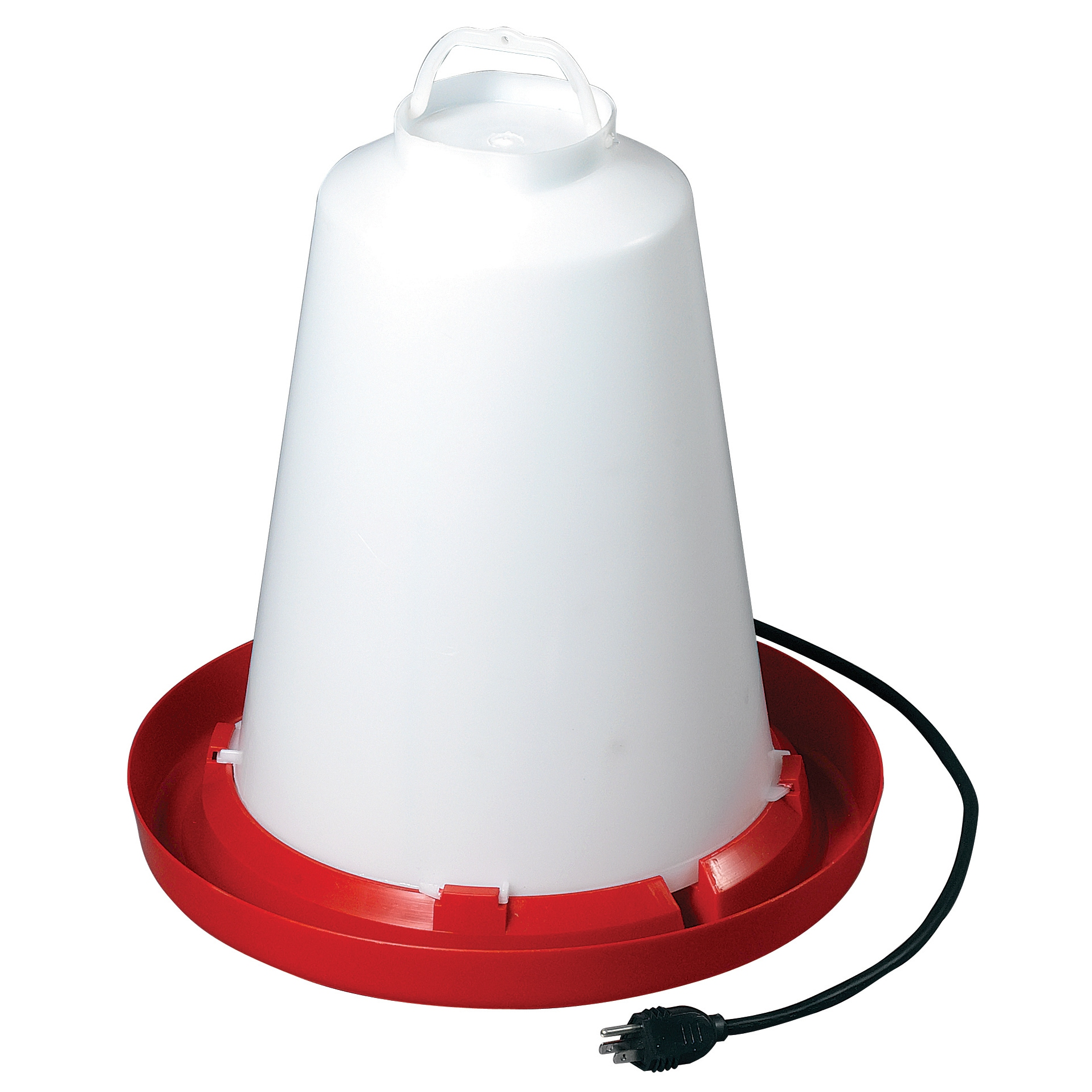 Allied Precision Heated Chicken Waterer (3.3 Gallon), White