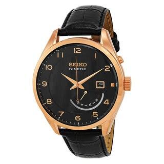 Seiko Dress SRN054P1 Men's Black Dial Watch