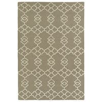 Trends Light Brown Hand Tufted Rug - 8' x 10'