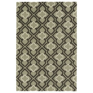 Trends Sage Mosaic Hand Tufted Rug (8'0 x 10'0)