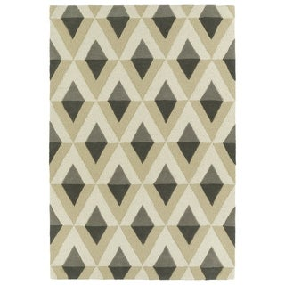 Trends Mid-Century Grey Hand Tufted Rug (8'0 x 10'0)