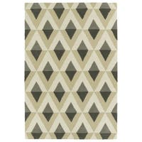 Trends Mid-Century Grey Hand Tufted Rug - 8' x 10'