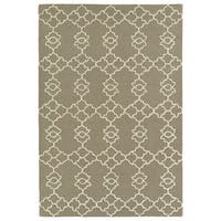 Trends Light Brown Hand Tufted Rug - 2' x 3'
