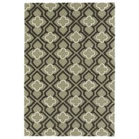 Trends Sage Mosaic Hand Tufted Rug - 5' x 7'