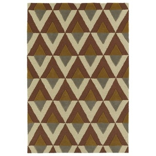Trends Mid-Century Brick Hand Tufted Rug (8'0 x 10'0)