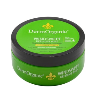 DermOrganic Windswept Defining Whip 4-ounce Hair Gel