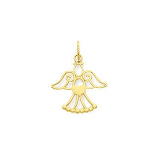 14-karat Yellow Gold Angel Charm