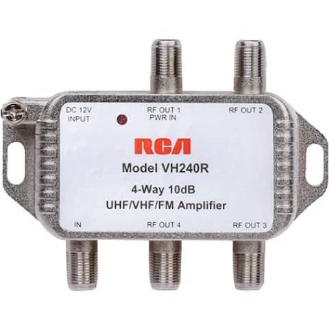 RCA 4 way Video Signal Amplifier & Splitter