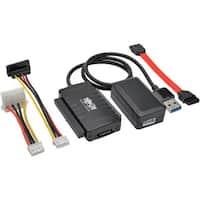 "Tripp Lite USB 3.0 SuperSpeed to SATA/IDE Adapter 2.5/3.5/5.25"" Hard"