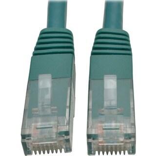 Tripp Lite 10ft Cat6 Gigabit Molded Patch Cable RJ45 M/M 550MHz 24AWG