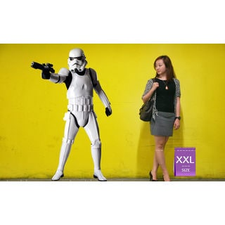 Storm trooper Full Color Decal, Full color sticker, colored Storm Sticker Decal size 48x76