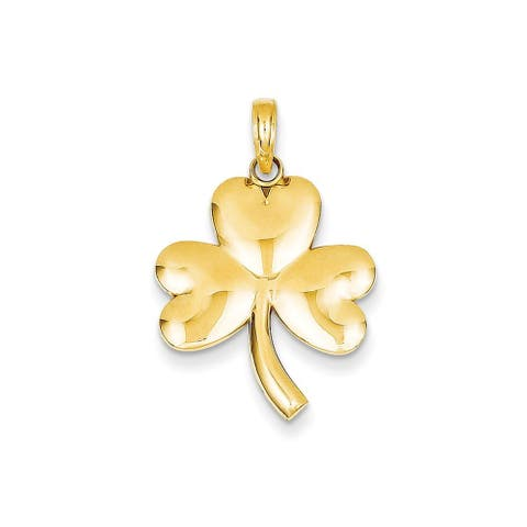 24d0e369d3804 Buy 14k Gold Charms Online at Overstock   Our Best Charms & Pins Deals
