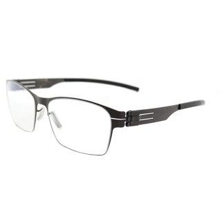 ic! berlin Luke J.Y. Graphite Metal Square Glasses (54 mm)