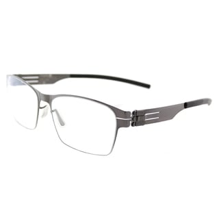 ic! berlin Luke J.Y. Gunmetal Square Glasses (54 mm)