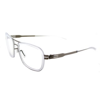ic! berlin Thien N. Bronze Diamond Metal Square Glasses (54 mm)